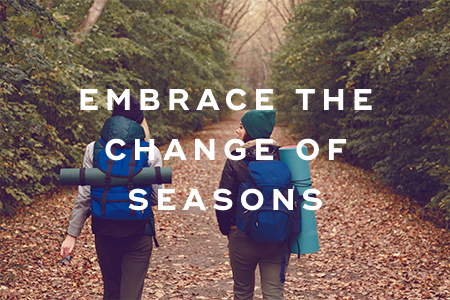 1-Embrace the change of seasons