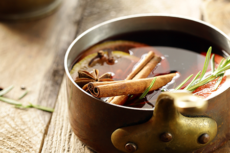 1-What ingredients are used in mulled wine_