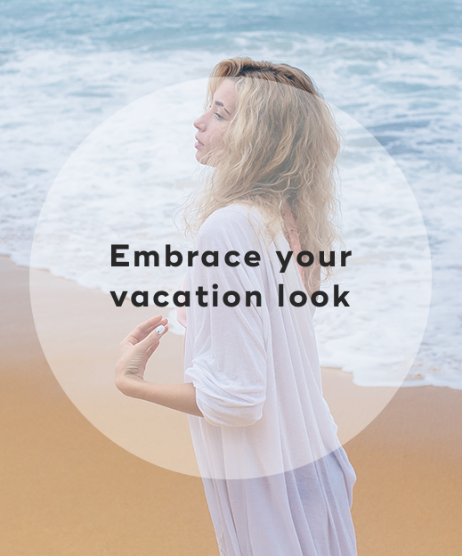 1. Embrace your vacation look
