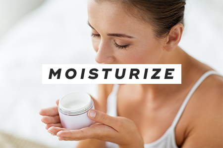 1. Moisturize before applying makeup