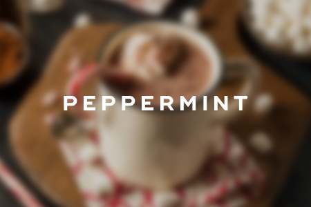 1. Peppermint hot chocolate