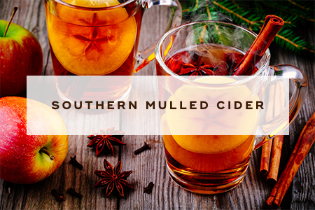 1. Southern mulled cider