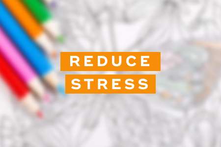 1. They reduce stress