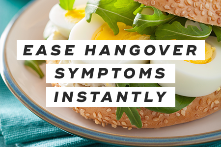 2-Ease hangover symptoms instantly