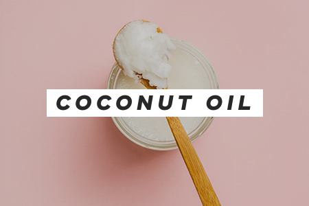 2. Add coconut oil to your daily routine