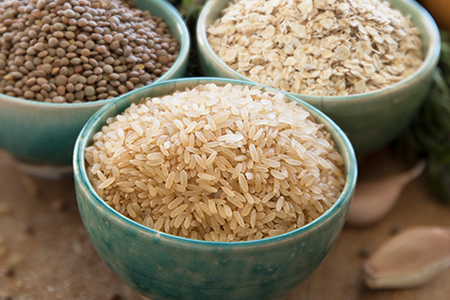 2. Brown rice