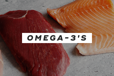 2. Consume more omega-3's