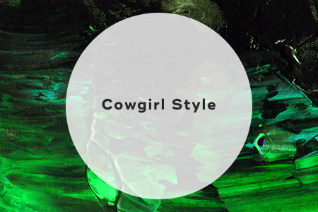2. Cowgirl style
