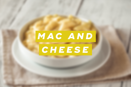 2. Mac and cheese
