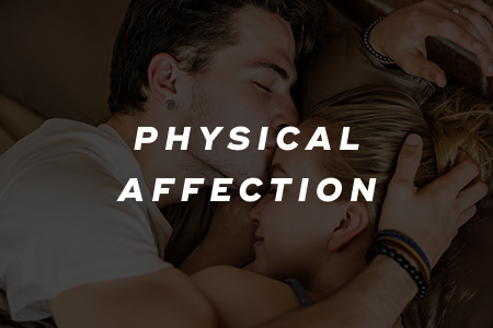 2. Show physical affection