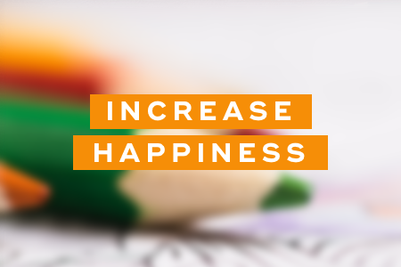 2. They increase happiness