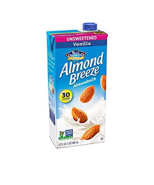 2. Warm almond milk