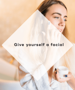2. Give yourself a facial