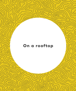 On a rooftop