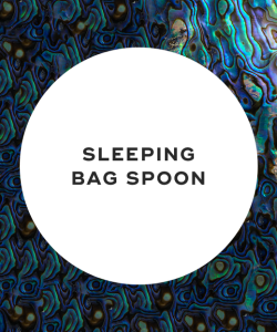 Sleeping bag spoon