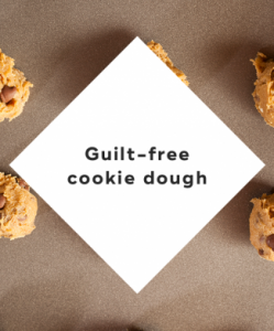 guilt-free cookie dough
