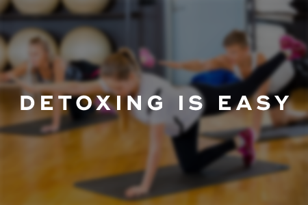 Detoxing is as easy as 1, 2, and 3