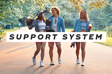 3-Set up a support system