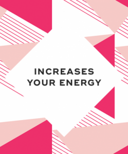 3. It increases your energy