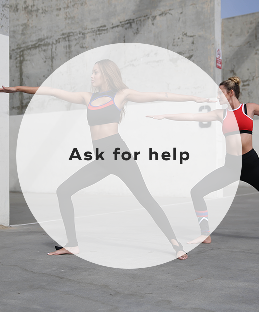 3. Ask for help