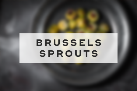 3. Brussels sprouts