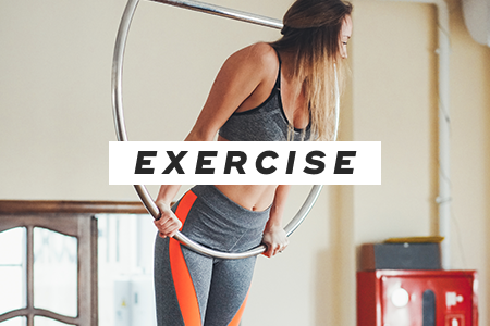 3. Exercise more