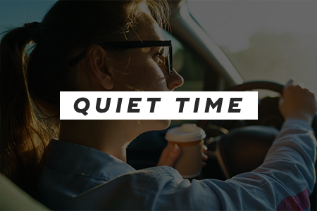 Find your quiet time