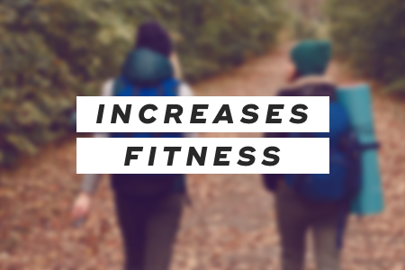 3. It increases physical fitness