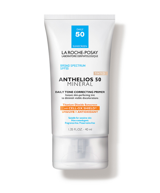 3. La Roche-Posay Anthelios Daily Mineral SPF 50 Sunscreen