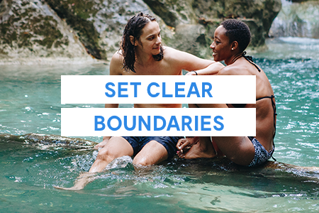 3. Set clear boundaries