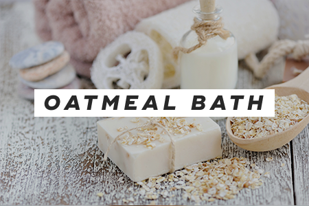3. Take an oatmeal bath