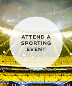 3. Attend a sporting event