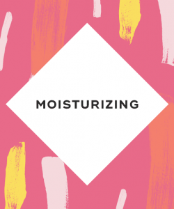 moisturizing frequently enough