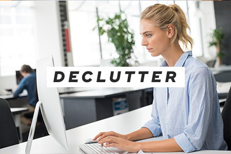 4. Declutter your electronics