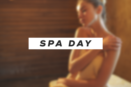 Schedule a spa day