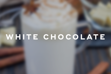4. White hot chocolate