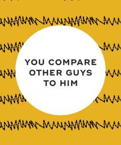 You compare other guys to him