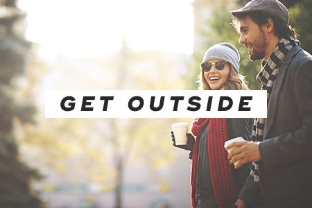 5. Get outside more