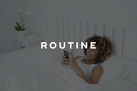 5. It's easier to get back into a routine