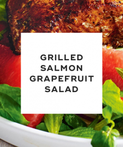 Salmon and Grapefruit salad
