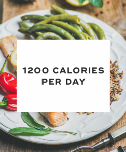Eat at least 1,200 calories