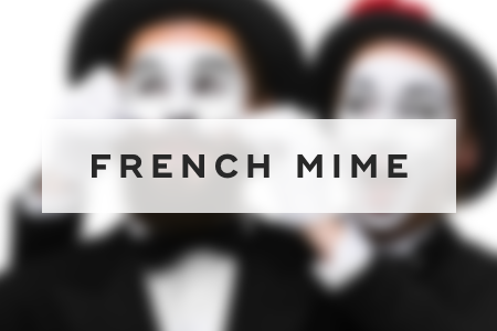 6. French mime