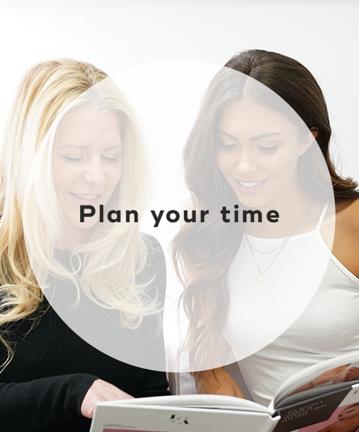 6. Plan your time