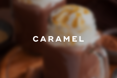 7. Caramel hot chocolate