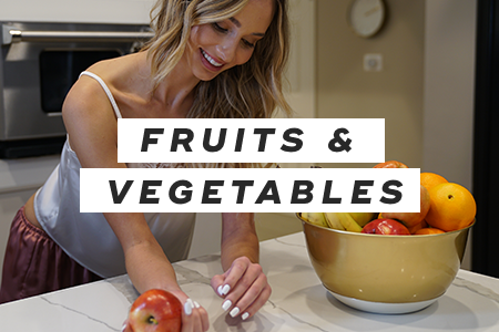 7. Eat more fruits and vegetables