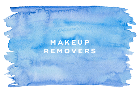 7. Makeup removers