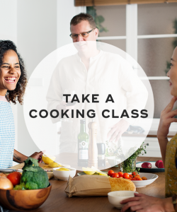 7. Take a cooking class