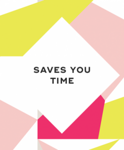 8. It saves you time