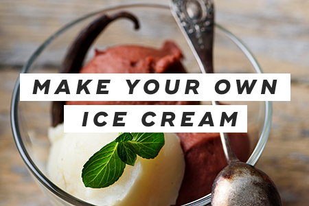 8. Make your own low-fat ice cream