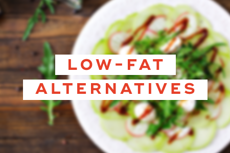 8. Switch to low-fat alternatives